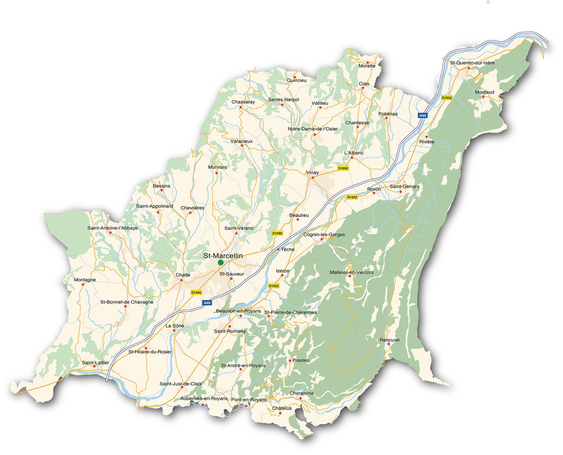 13ad9860f9a Le territoire - Saint-Marcellin Vercors Isère communauté